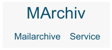 MArchiv - eMail Archiv as a Service
